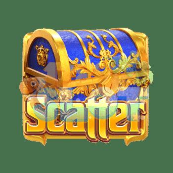 Majestic Treasures Scatter Symbol