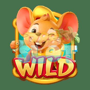 Fortune Mouse Wild Symbol
